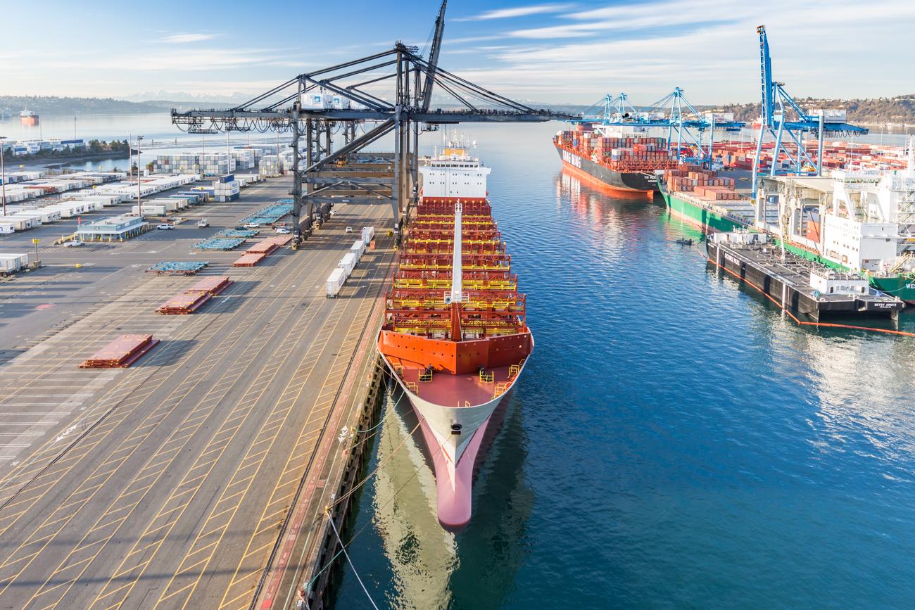 Tacoma industrial maritime photographer